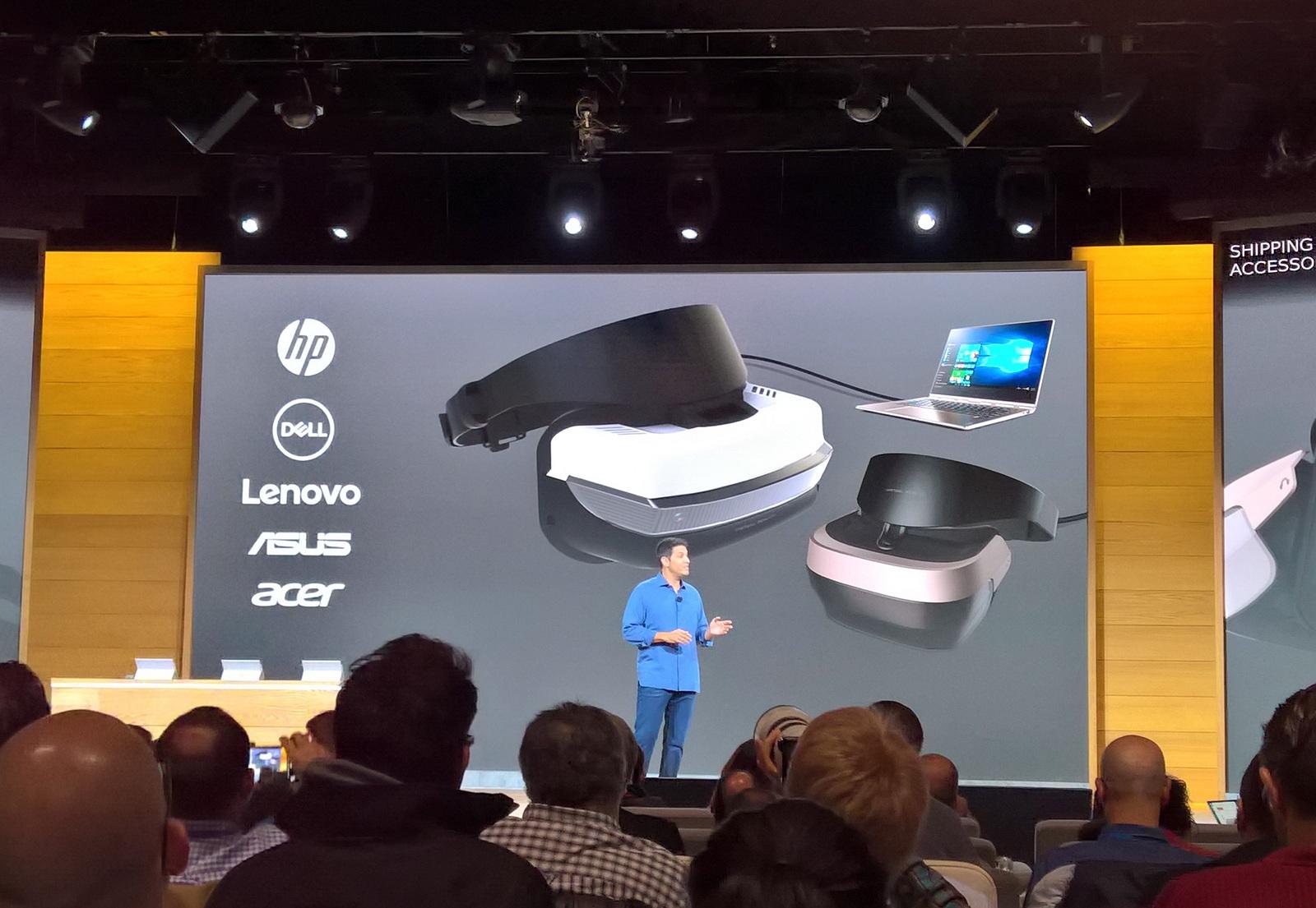 Windows 10 virtual reality hardware