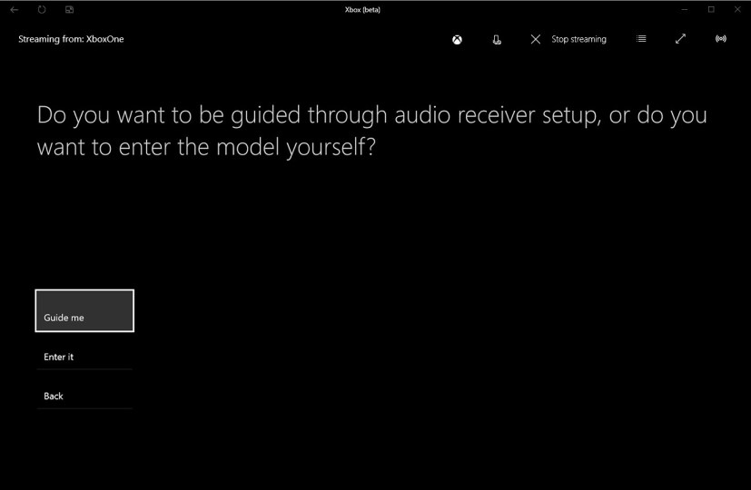 Xbox One Audio receiver guide