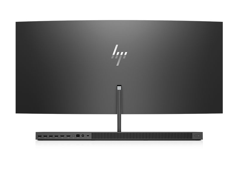 HP Envy Curved 34 back (2017)