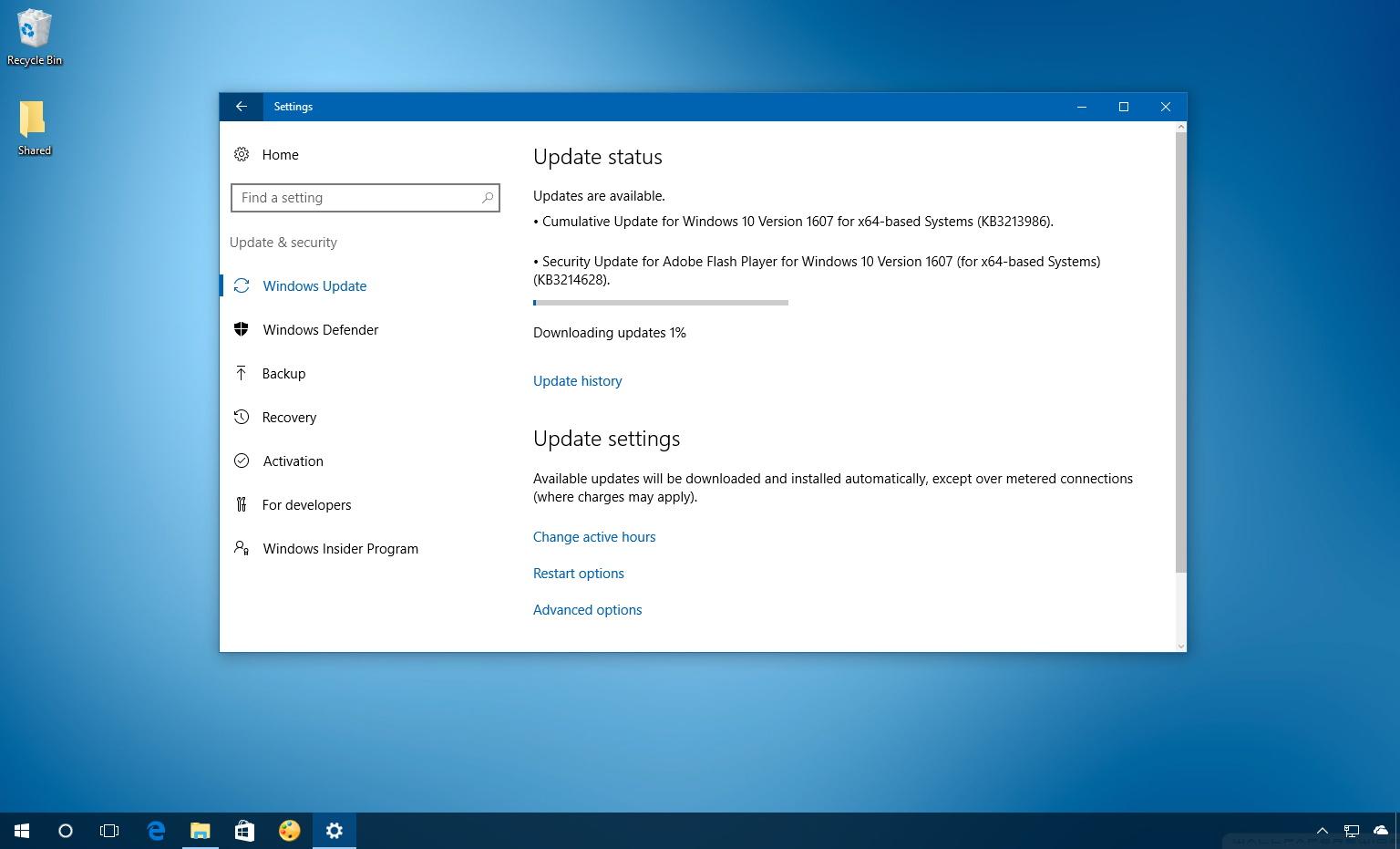 Windows 10 KB3213986