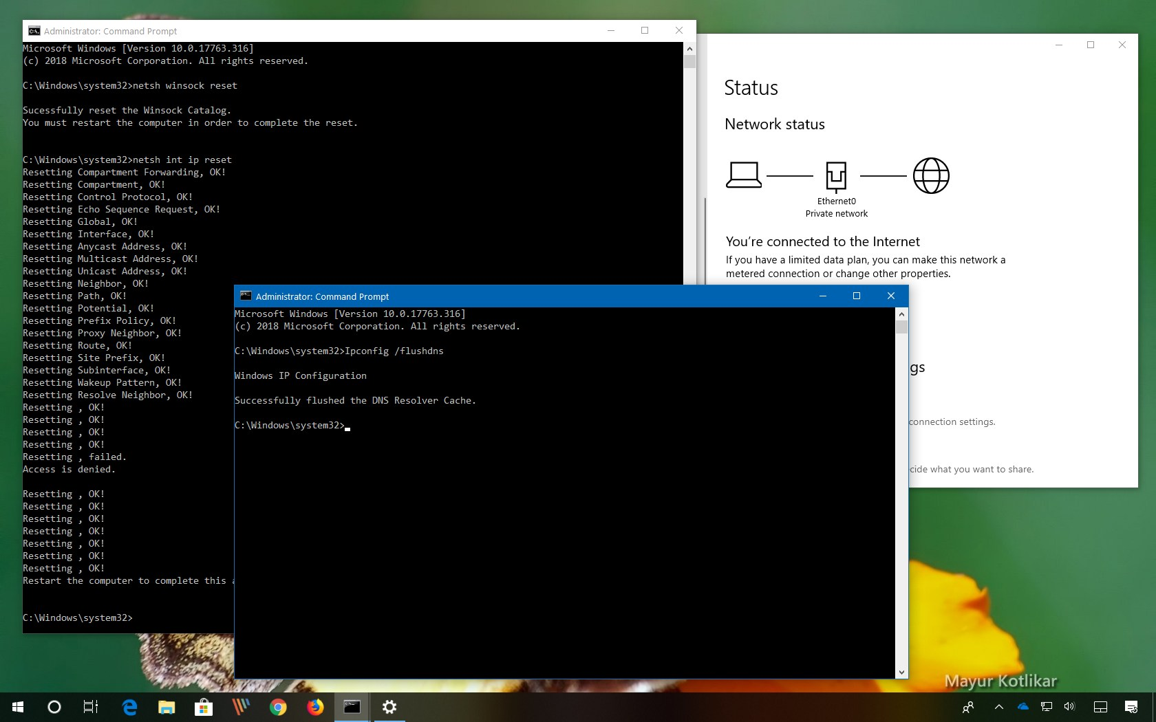 How to fix \u0027Unidentified Network\u0027 error on Windows 10 \u2022 Pureinfotech