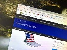 Microsoft Store President's Day sale 2017