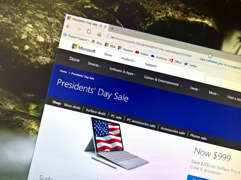 Microsoft Store President's Day sale 2017