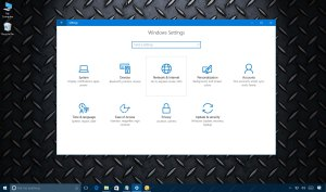 Windows 10 Network & Internet settings