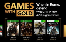 April 2017 Xbox Games with Gold
