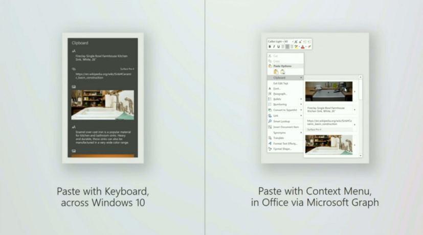Microsoft cloud-powered Clipboard