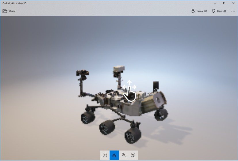 View 3D app for Windows 10