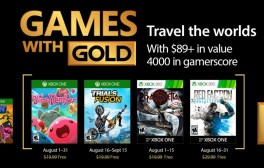 Xbox Games with Gold for August 2017