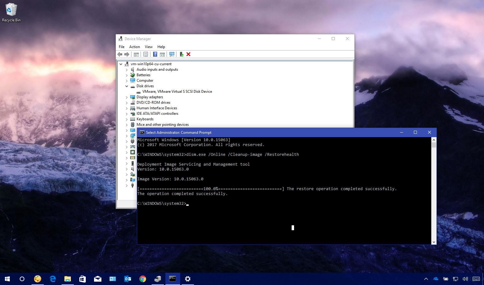 Fixing 0xC1900101 errors on Windows 10