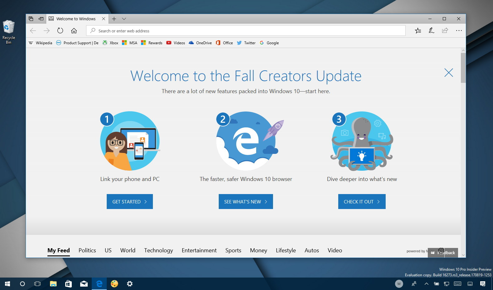 Hands-on video review with Windows 10 build 16273 new changes
