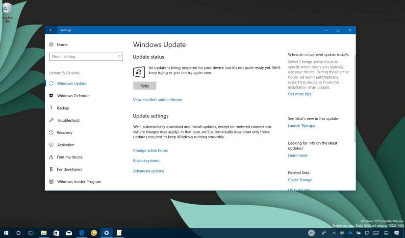 Windows 10 build 16288