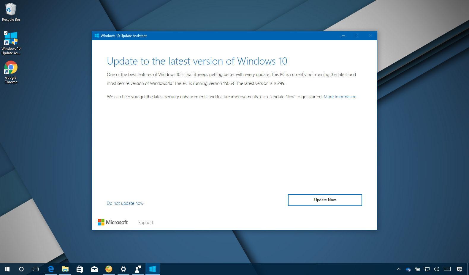 windows 10 upgrade 1709 download