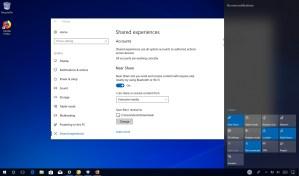 Change Near Share receive folder location