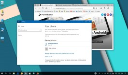 Link your phone to a PC on Windows 10