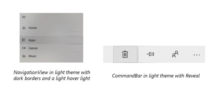 Reveal highlight using light theme