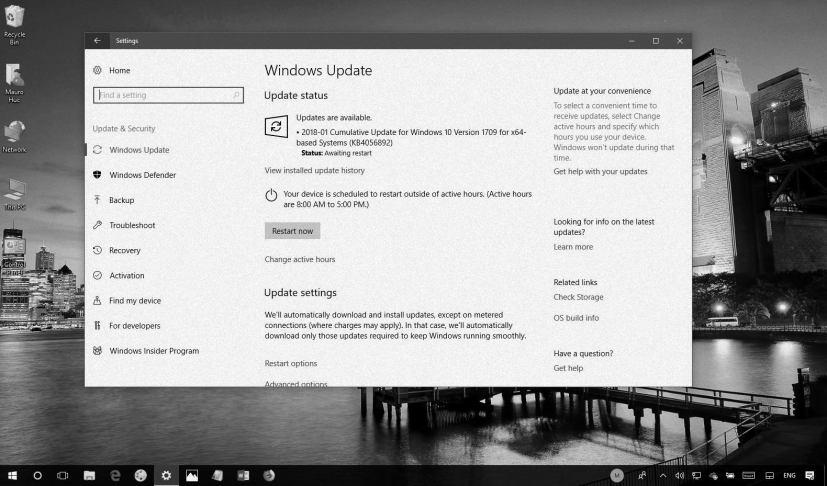 Windows 10 KB4056892 in this Weekly Digest
