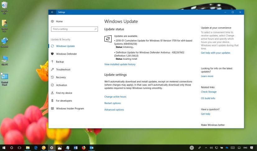 Windows 10 KB4058258