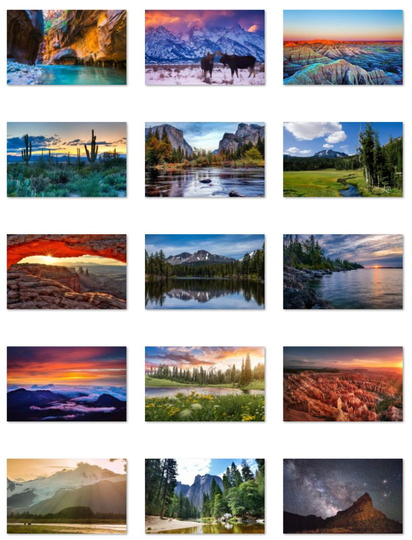 US National Parks wallpapers