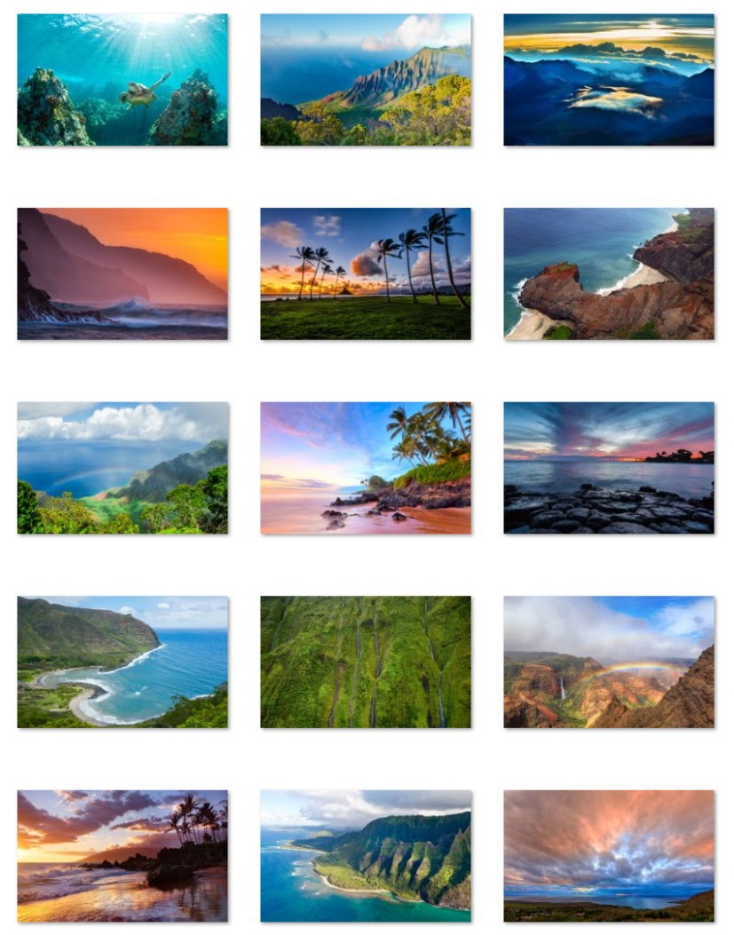 Hawaiian wallpapers for Windows 10