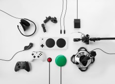 Xbox Adaptive Controller group with input devices