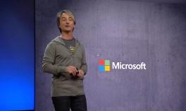 Joe Belfiore at the Microsoft Build 2018 developer conference