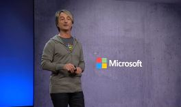 Joe Belfiore at the Microsoft Build 2018 developer conference