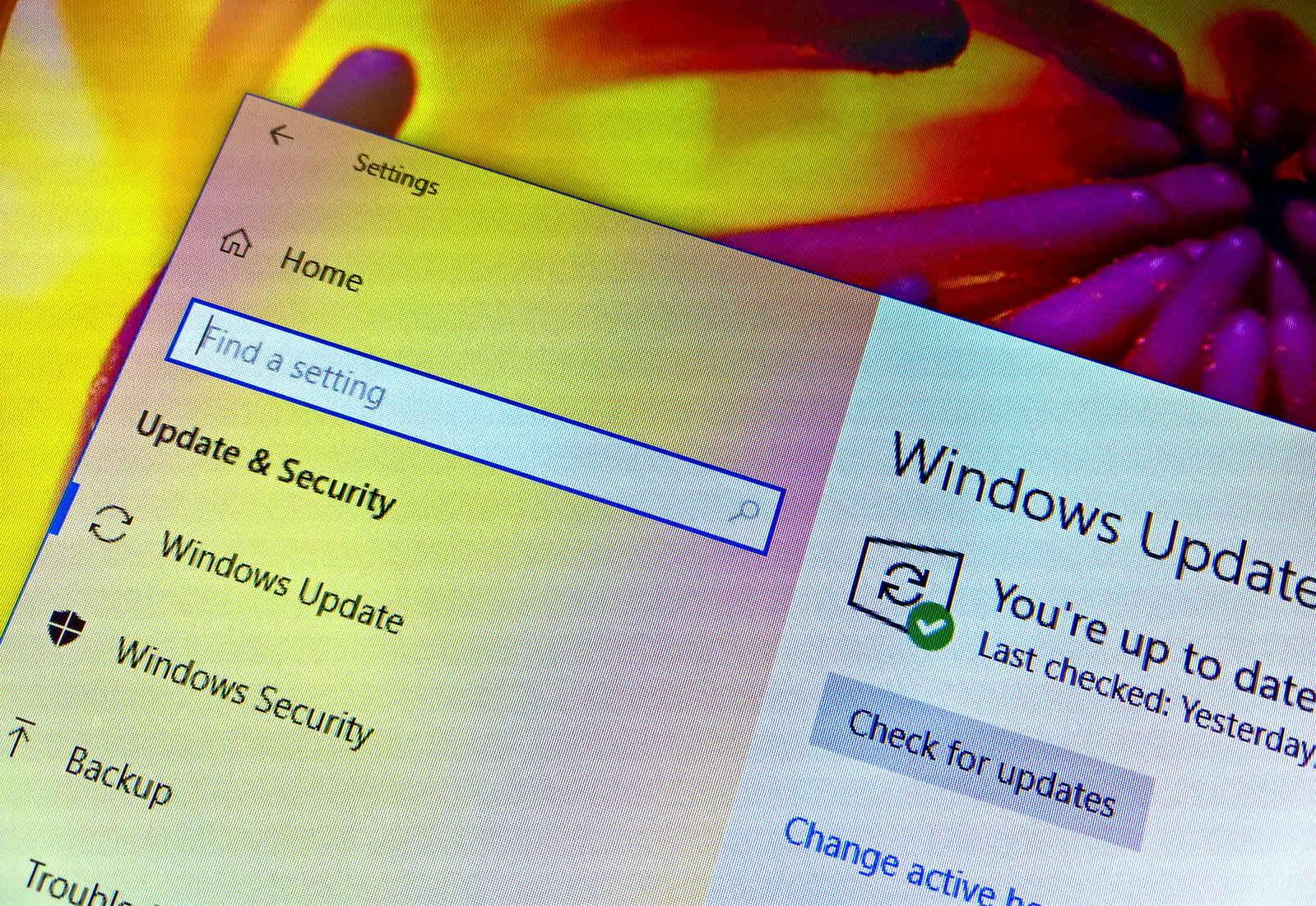 Windows 10 version 1803 after upgrade