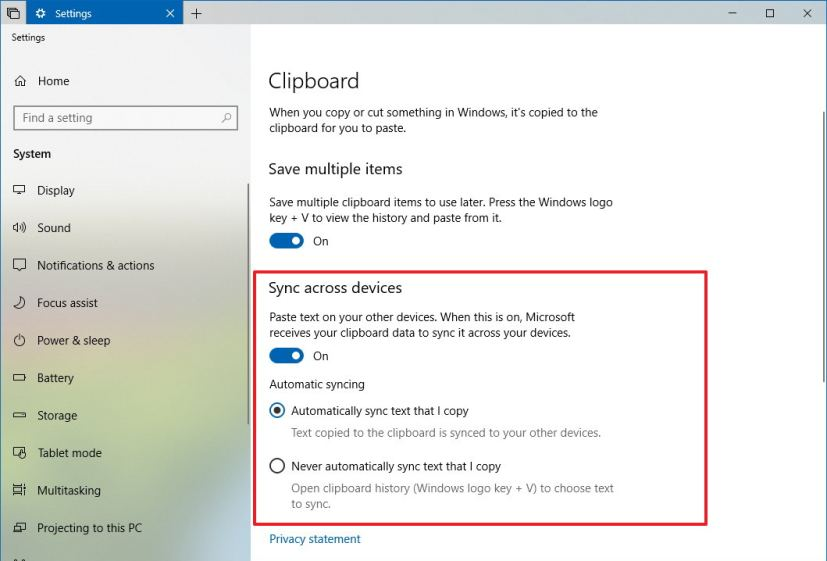 Android windows clipboard share