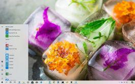 Melting Ice theme for Windows 10