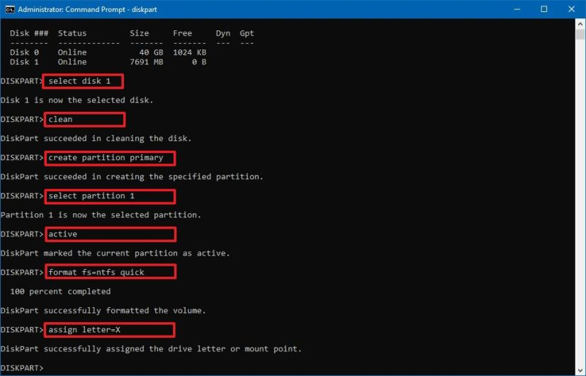 how to make usb bootable windows 10 cmd