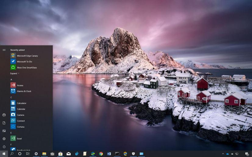 Beautiful Norway theme for Windows 10