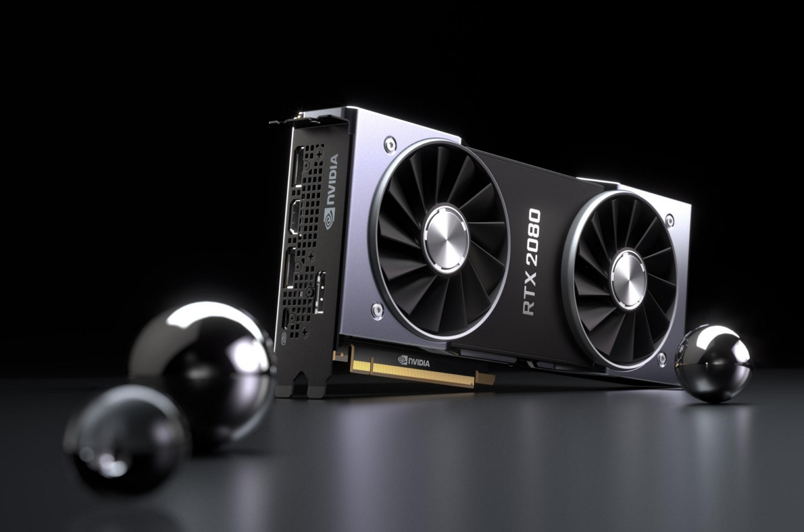 Nvidia GeForce RTX 2080 card
