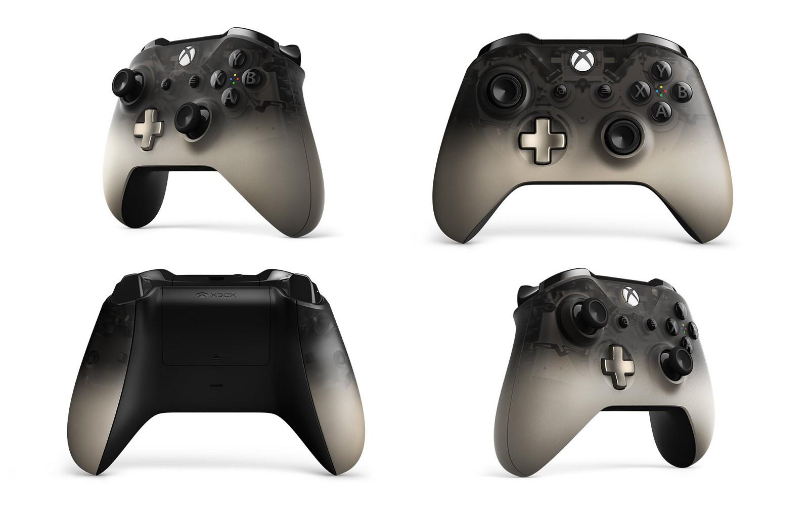 Xbox Phantom Black wireless controller