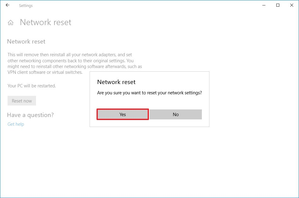 Wifi adapter not detecting networks windows 10