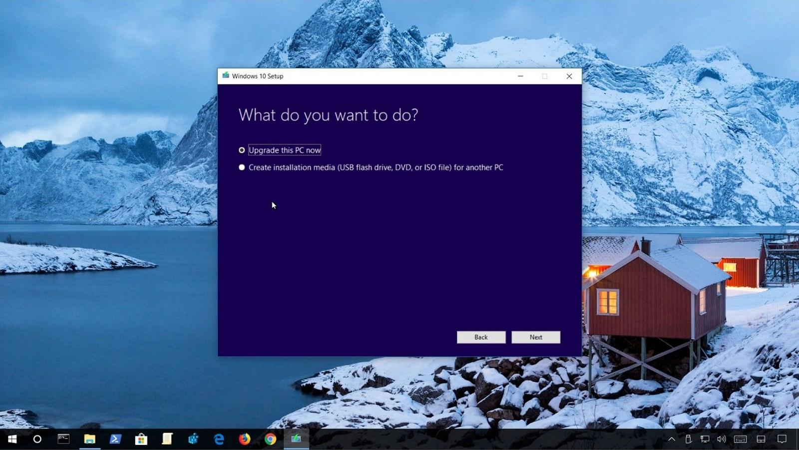 Upgrade to Windows 10 manually: Instruction