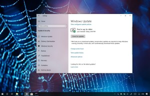 Windows 10 update KB4464455