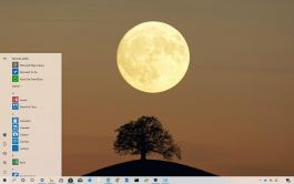 Near side of the moon theme for Windows 10