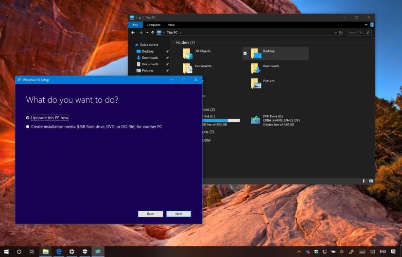 Download Windows 10 1809 (October 2018 Update)