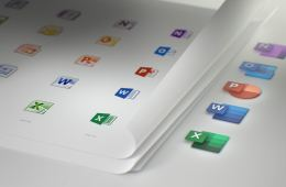 Microsoft Office new apps icons