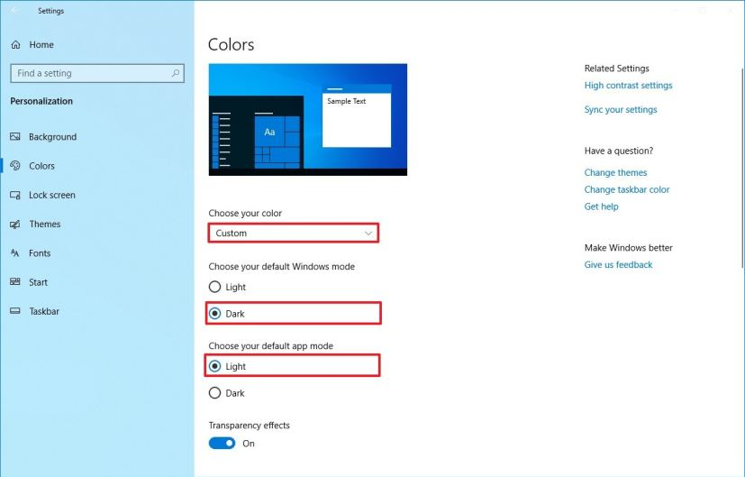 How to enable new light mode on Windows 10 • Pureinfotech