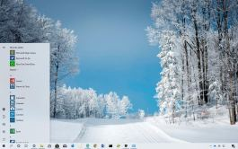 Ski Paradise theme for Windows 10