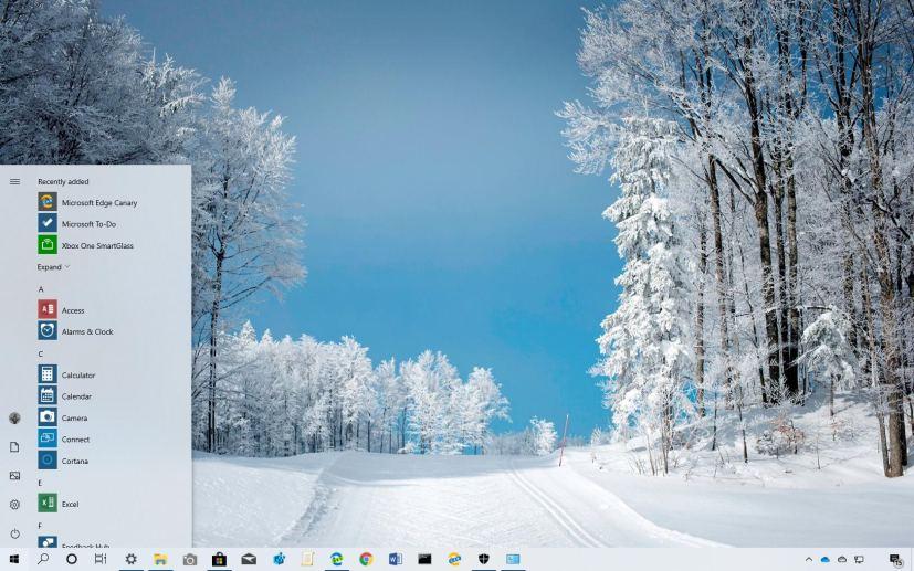 Ski Paradise theme for Windows 10