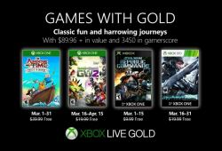 March 2019 Games with Gold for Xbox