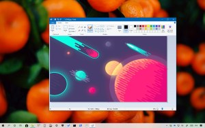 Microsoft Paint on Windows 10 version 1903, May 2019 Update