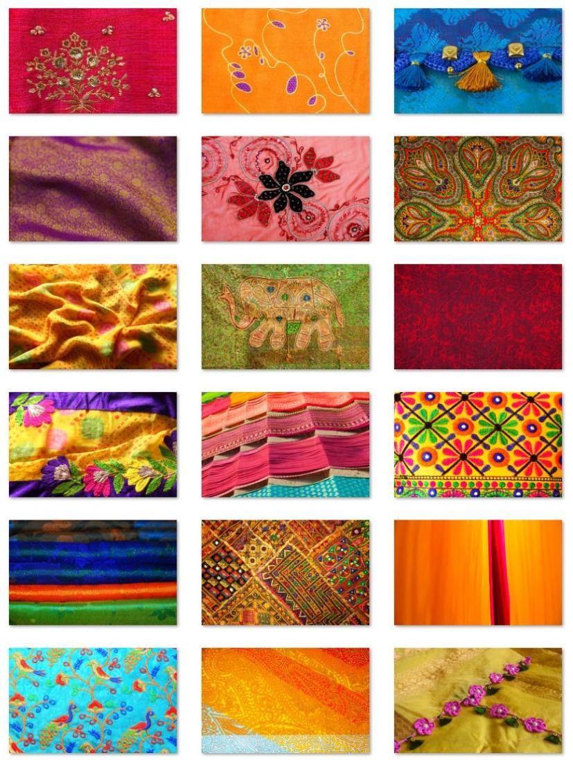 Fabrics of India wallpapers