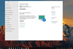 Windows 10 version 1903 compatibility message on Windows Update