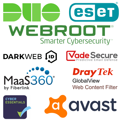 Cyber Security solutions offered by Pure IT