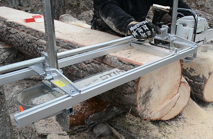 Homemade Chainsaw Sawmill Plans