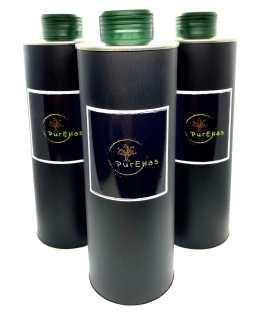 12 x PurEllas extra virgin ultra premium Olivenöl 500ml (6L)