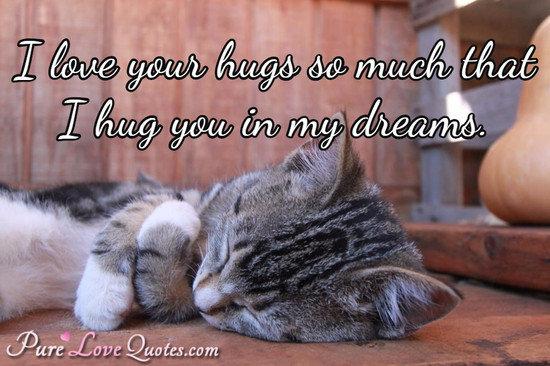 Love Hug Quotes Him